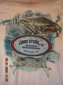 Gibbs Store White Crab Long-Sleeve T-Shirt