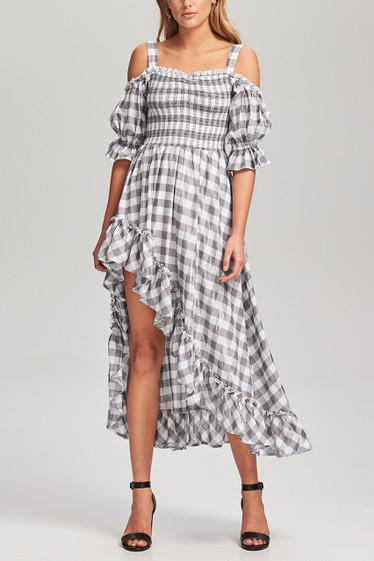 PRE ORDER / Carine Flare Midi Dress