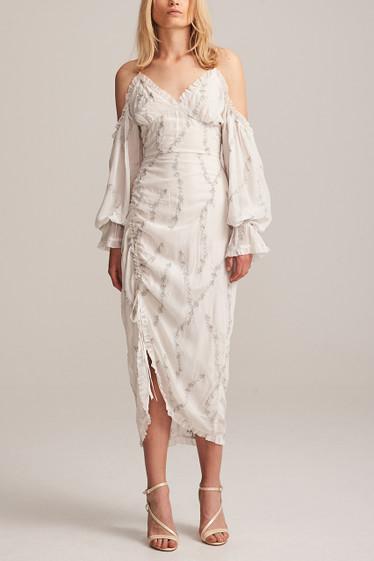 Sterling Drape Midi Dress
