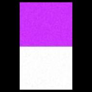 Coated Purple Glow in the Dark Powder (35-65 micron)