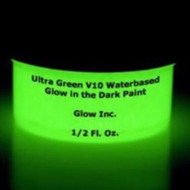 Ultra Green V10 Water-Based Glow in the Dark Paint