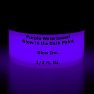 Purple Water-Based Glow in the Dark Paint