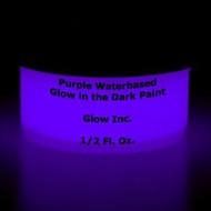 Purple Water-Based Glow in the Dark Paint