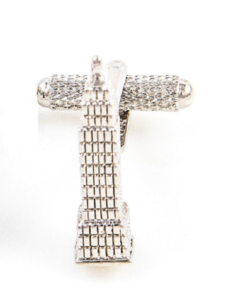 Empire State Building Cufflinks close up image