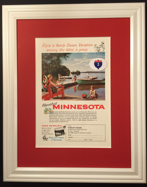 1959 59 Minnesota Vintage Ad MN Marvelous Family Dream Vacation 10,000 Ten Thousand Lakes Boat Swim  Travel, traveling, vacation, family, explore, drive, driving, vintage, classic, old, antique, trip, fun, holiday, travelling, travelled, traveled, journey, traveler, traverse, tour, peregrinate, pilgrimage, trek, voyage, expedition, passage, break, hols, leave, recess, furlough, relaxation, respite, lounging, escape, get, away, tourist, tourism,