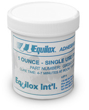 Equilox 1 - Slower Setting Formula Adhesive - Single Use System 1oz
