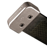 Double S Aluminium Rasp End Cover