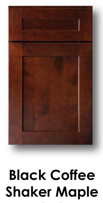 J&K Black Coffee Maple Door