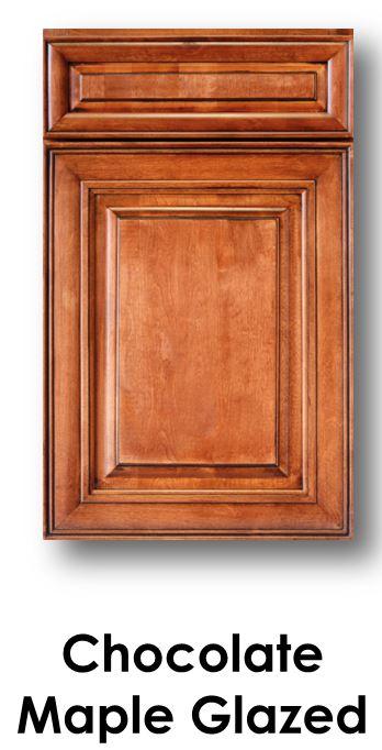 J&K Chocolate Maple Glaze Door