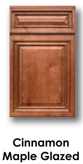 J&K Cinnamon Maple Glaze Door