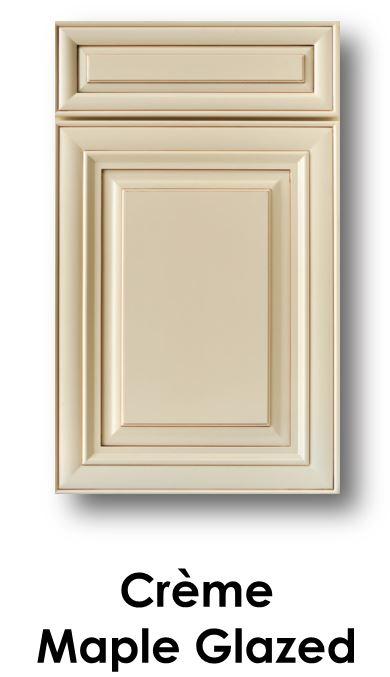 J&K Creme Maple Glaze Door