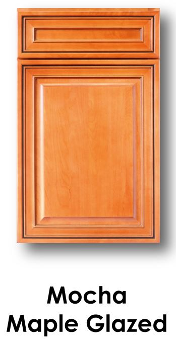 J&K Mocha Maple Glaze Door