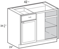 "Soda  Base Blind Corner Cabinet   42""W x 24""D x 34 1/2""H  BBC42"