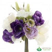 Poppys Purple Bouquet 30cm (set of 6)