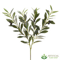 Green Olive Branch 90cm (pack of 6)