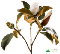 White Magnolia Bud 60cm (pack of 6)