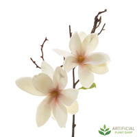 White Magnolia Spray 70cm (pack of 6)