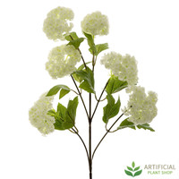 White Snowball Branch Large 63cm (pack of 6)