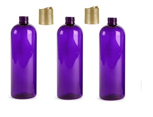 8 oz Plastic Purple Bullet  Bottle