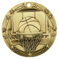 Gold Basketball World Class Medal