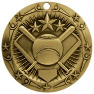 Gold World Class Softball Medal