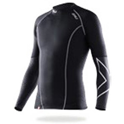 2XU Mens Elite Compression Longsleeve Top