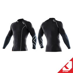 2XU XFORM - Men's Elite L/S Compression Top