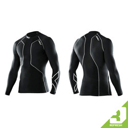2XU Refresh - Men's Swimmers Long Sleeve Compression Top