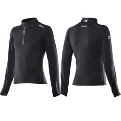2XU Men's 3/4 Zip Thru Top