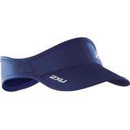 2XU Run Visor - Blue