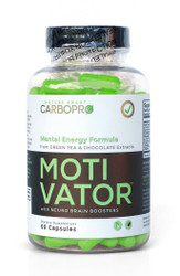 Motivator - Mental Energy Formula from GREEN TEA & CHOCOLATE Extracts