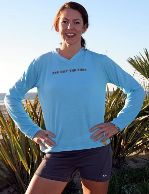 Womens Smarter Performance Longsleeve V