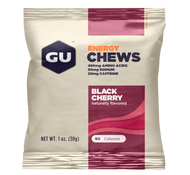 GU Energy Chews - Black Cherry