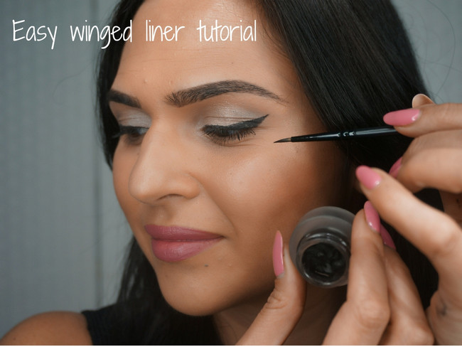 HOW TO: Easy winged eyeliner