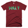 Halt Gears Short Sleeve Men's T-shirt - Hungry? Angry? Lonely? Tired? - Check Yourself!