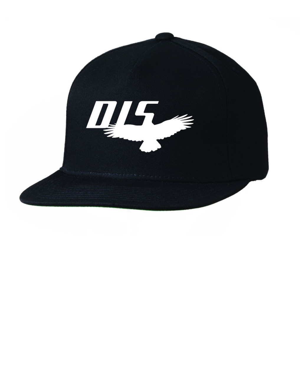Quot Dis Quot Doing It Sober Logo Embroidered Black Five Panel