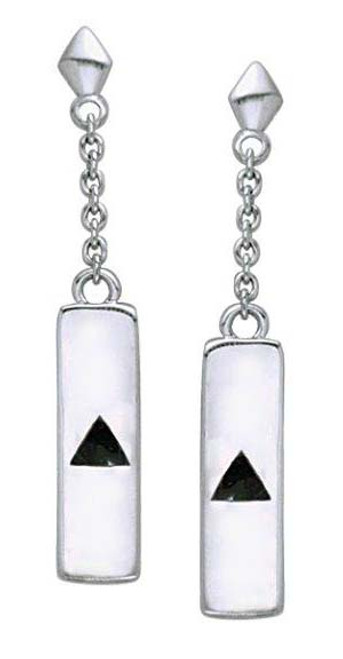 Sterling Silver Recovery AA earrings, perfect gift for the ladies in the program of Alcoholics Anonymous.