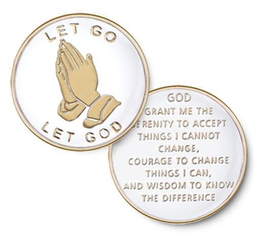 Let Go - Let God / White
