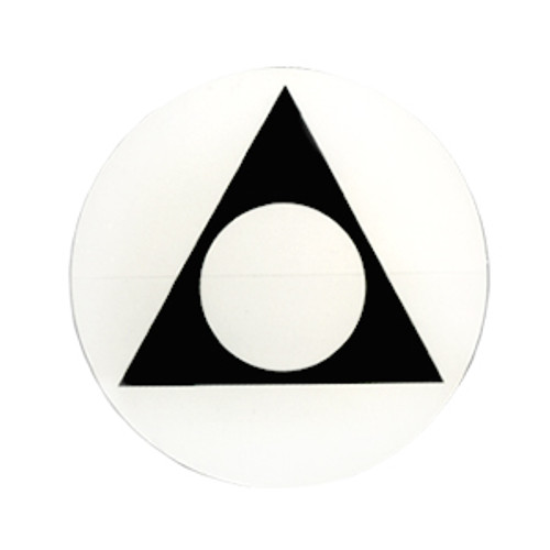 "#RS9, 3"" Round Alanon Recovery Symbol Sticker"