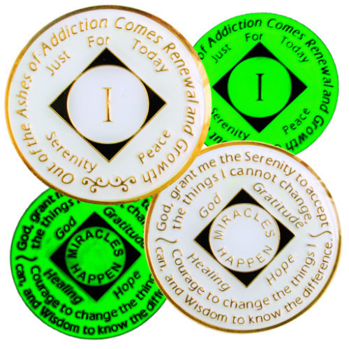 Narcotics Anonymous Glow Chips are here!