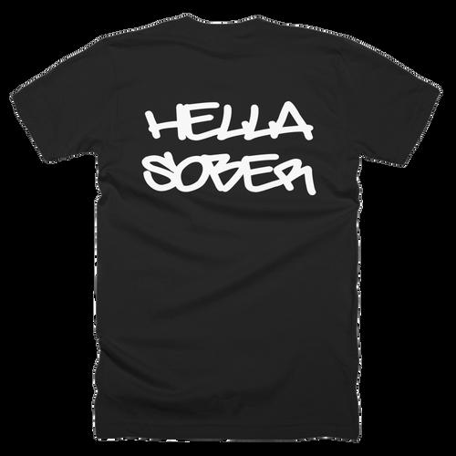 Hello Sober Men's Jersey Style Tee