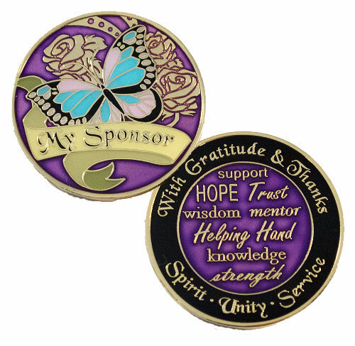 Give your sponsor a beautiful sponsor colorful medallion to show you care !