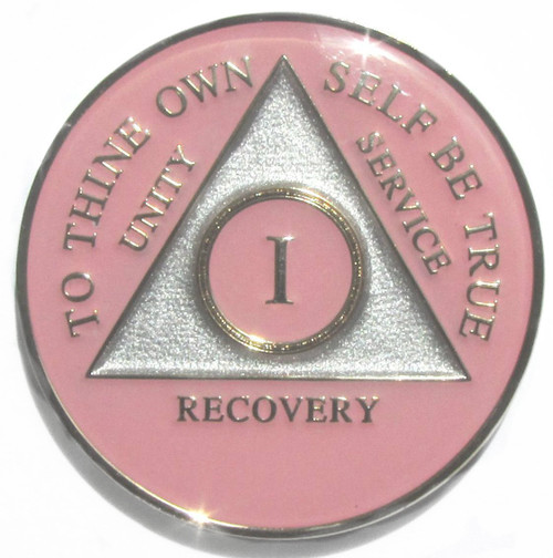 recovery Anniversary AA medallion!