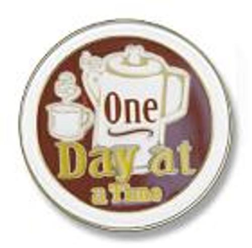 "Coffee Pot 1/2"" Lapel Pins"