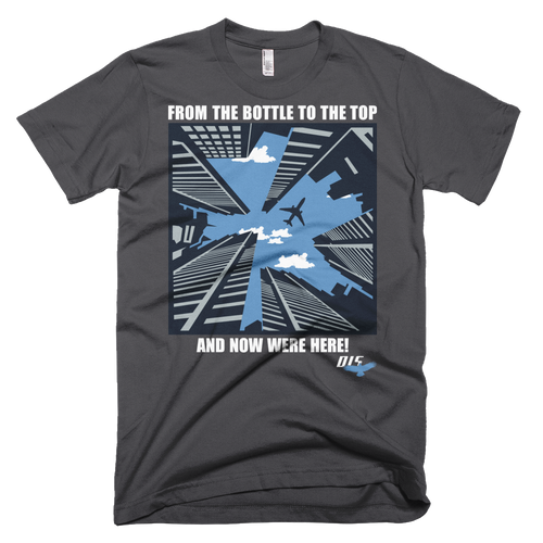 """From The Bottle To The Top"" Men's  Short Sleeve Anvil Lightweight T-Shirt"
