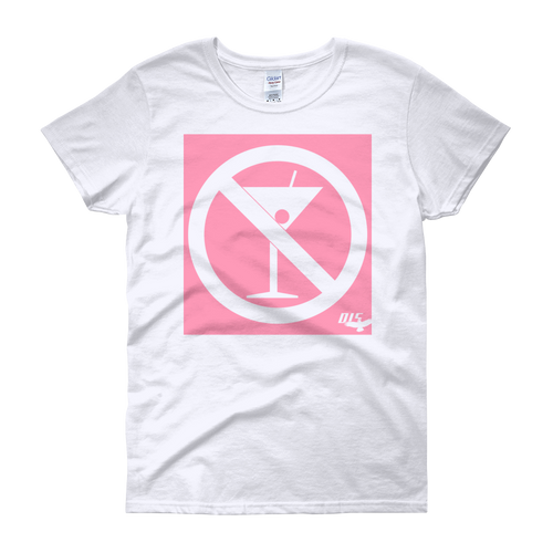 No Cocktails Please Ladies Heavy Cotton Short Sleeve T-Shirt