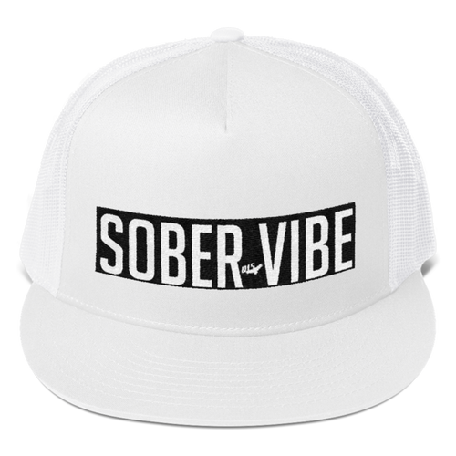 It's A Vibe - Sober Vibe Trucker Cap