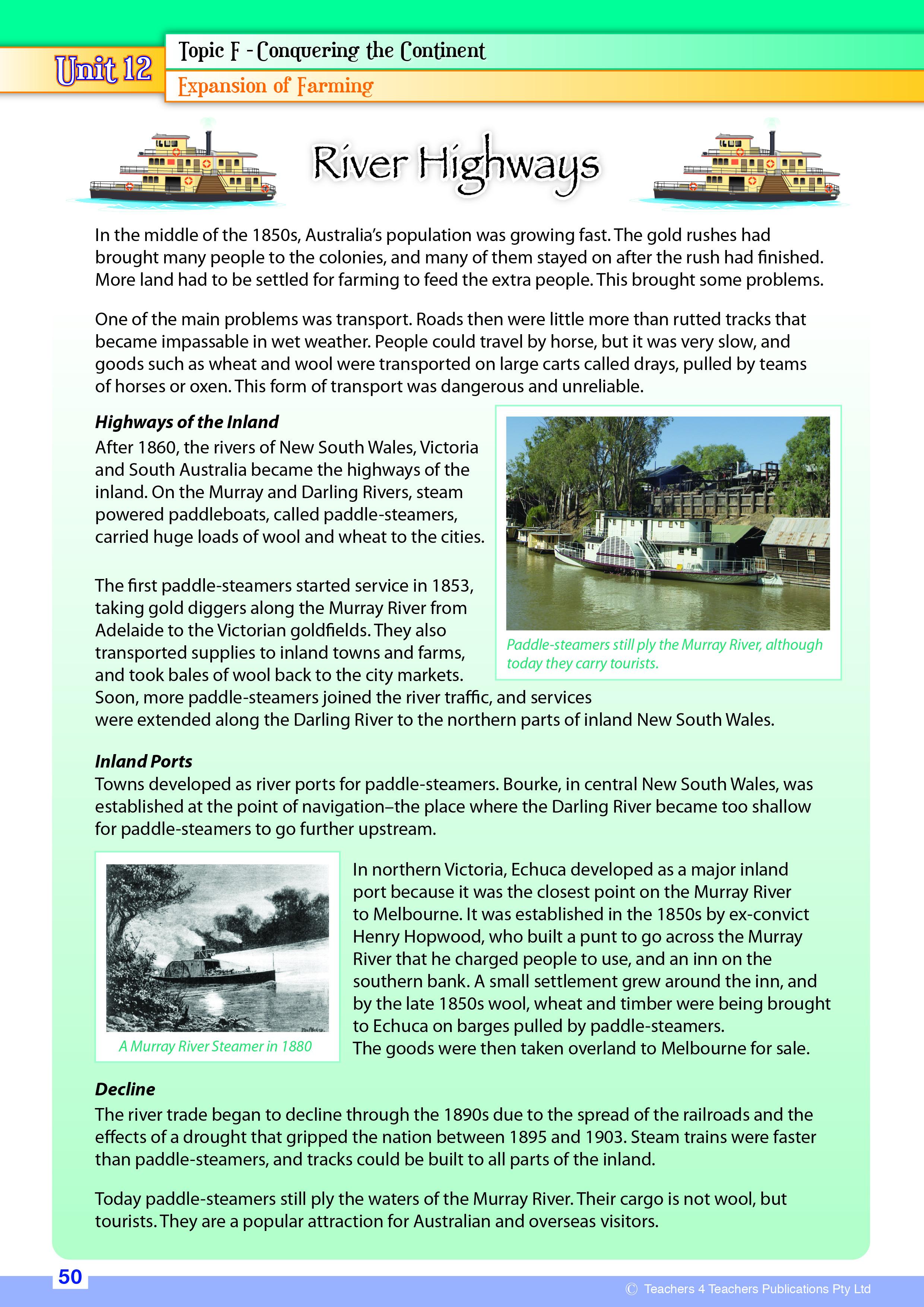 History Now - Teachers 4 Teachers Publications Pty Ltd