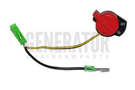 Honda Gx100 Gx110 Gx120 Gx160 Gx200 Gx240 Gx340 Gx340 Gx390 Kill Switch ( 2 Wire Version )