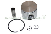 Chainsaw Husqvarna 61 Engine Motor Cylinder 48mm Piston Kit with Rings